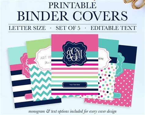 printable binder covers and spines best 20 school binder covers ideas on pinterest cute