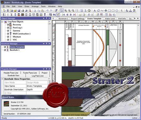 Software Alat Pemetaan Golden Software Strater V5 golden software strater v2 5 704 eat frasbairecjunc s
