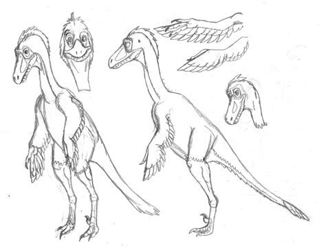 how to draw troodon
