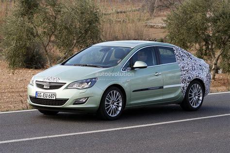 opel astra 2012 spyshots 2012 opel astra sedan