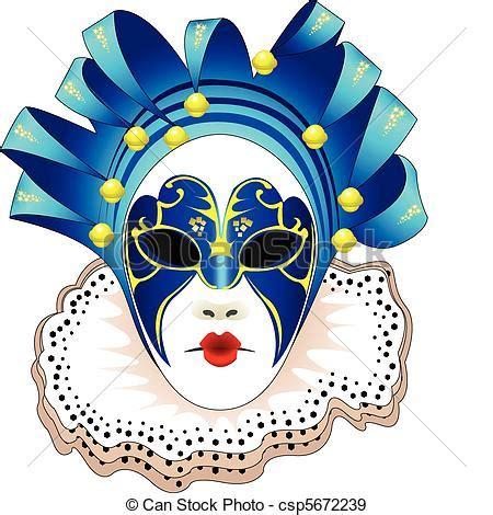 carnevale clipart vecteurs eps de vecteur masque carnaval illustration