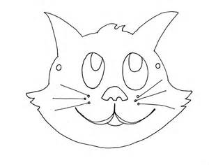Cat Mask Template by Animal Mask Template Animal Templates Free Premium
