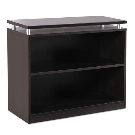 modern shelving low espresso bookcase eurway