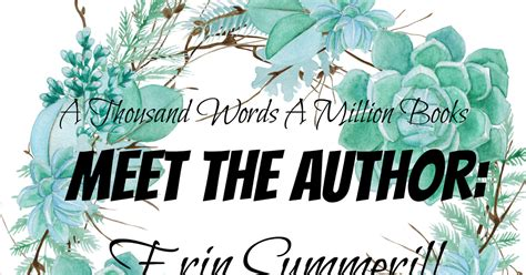 meet the author erin summerill the hunted