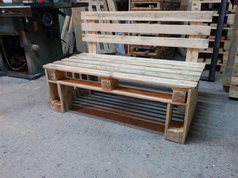 how to make a pallet bench pallet bench seating