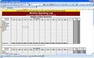monthly spending template monthly mileage log template printable search results