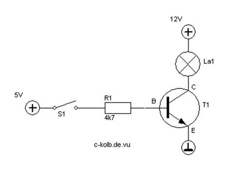 transistor npn anschluss transistor c kolb