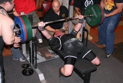 world record bench press video interview with bench press world record holder jay fry