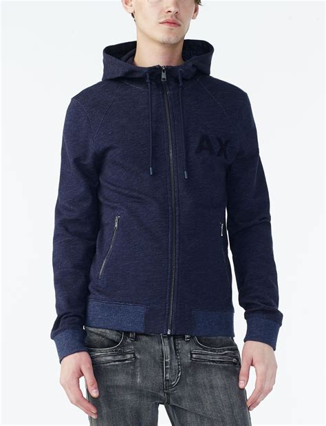 Jaket Zipper Hoodie Sweater U Hitam 13 armani exchange varsity logo zip up hoodie jacket fleece jacket for a x store