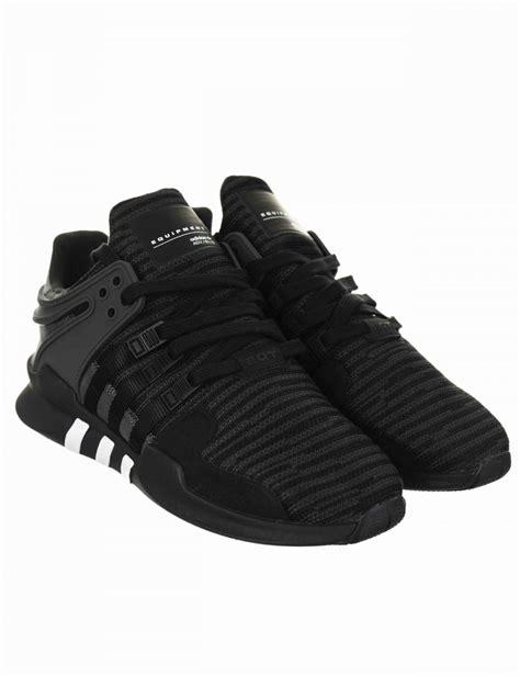 Sepatu Sneakers Adidas Originals Eqt Support Adv Black White adidas originals eqt support advance shoes black utility black bb1297 footwear from