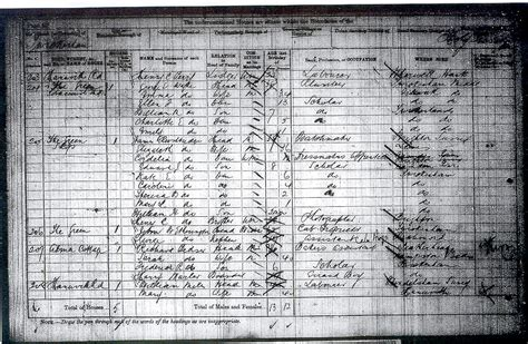 1881 Census Address Search Census 1881 Borough Of Richmond Upon Thames