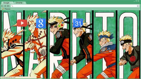 theme chrome naruto naruto fases chrome theme themebeta