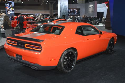 orange cars 2016 go mango paint is now on regular 2016 dodge charger and