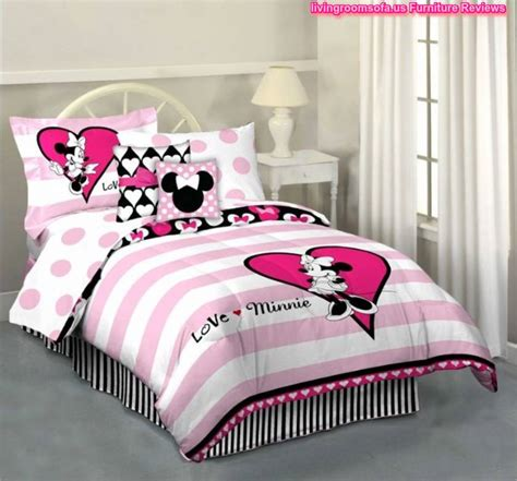 minnie mouse bed in a bag minnie mouse hearts and dots reversible bed in a bag