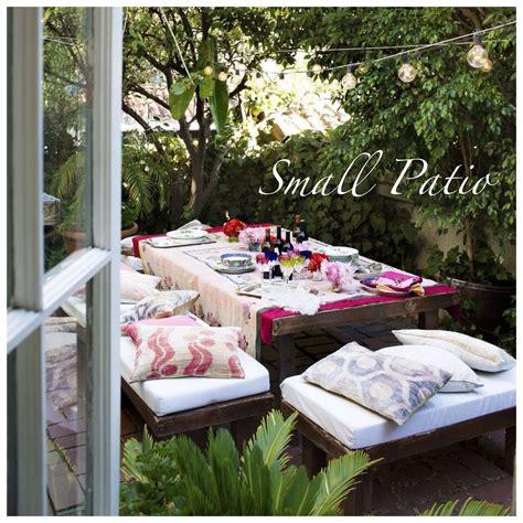 para patio ideas para decorar peque 241 os patios y terrazas
