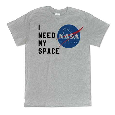 My T Shirt i need my space nasa shirt melonkiss