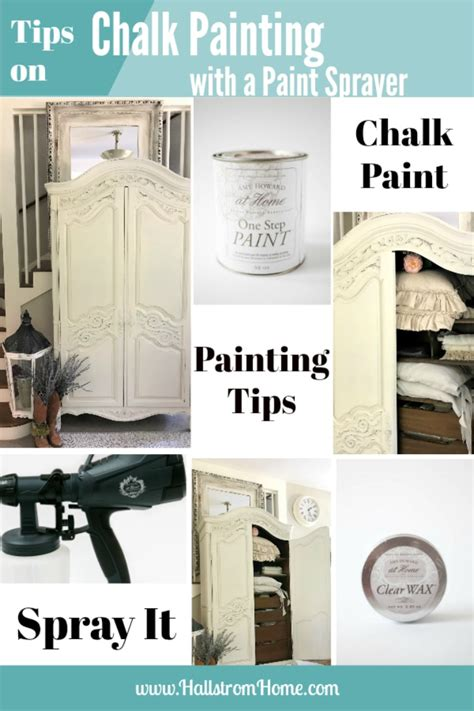 chalk paint guide tips on chalk painting furniture with a paint sprayer