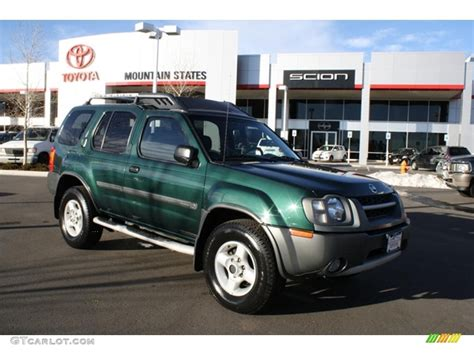 2002 alpine green metallic nissan xterra xe v6 sc 4x4 42596228 gtcarlot car color galleries