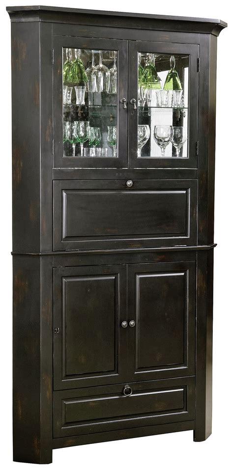 distressed wood bar cabinet rustic corner bar cabinet distressed wine bar cabinet