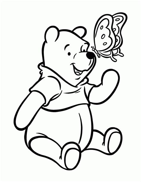 free coloring pictures free printable winnie the pooh coloring pages for