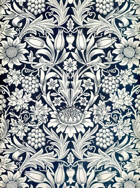 pattern design william morris william morris sunflower wallpaper pattern pinterest