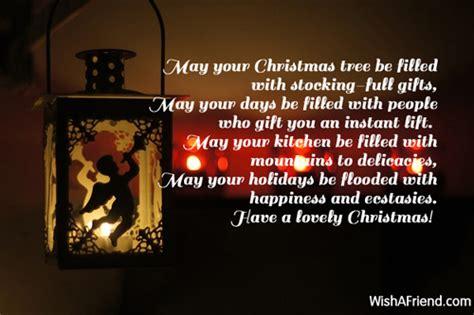 christmas tree short christmas poem
