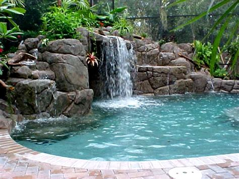 backyard pools with waterfalls swimming pool object giant bomb