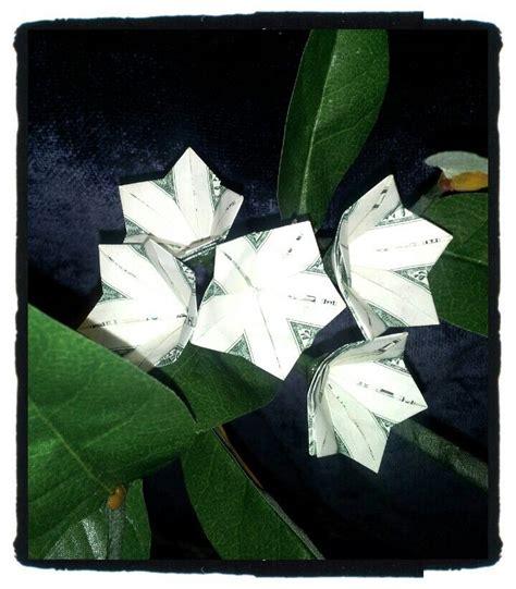 Plumeria Dollar Origami - plumeria money origami