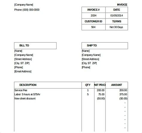 i need an invoice template 25 best ideas about invoice template on