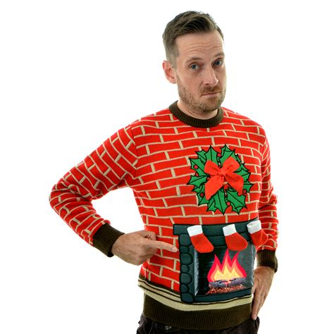 History Of Lighted Jumpers Cheesy Christmas Jumpers Light Up Jumpers For