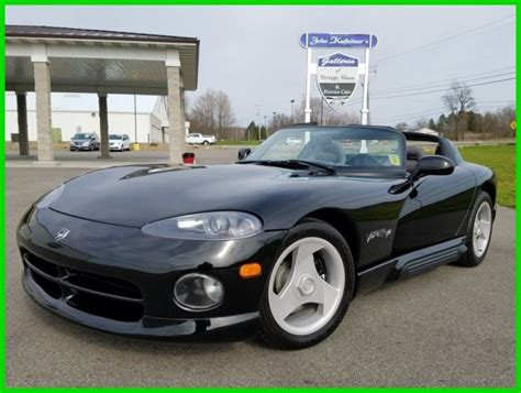 free car manuals to download 1994 dodge viper rt 10 interior lighting 1994 dodge viper r t 8 0l v10 manual air conditioning 1 owner 1k miles 94