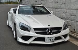 Mercedes Be Tuningcars Vitt Mercedes Sl63 Amg