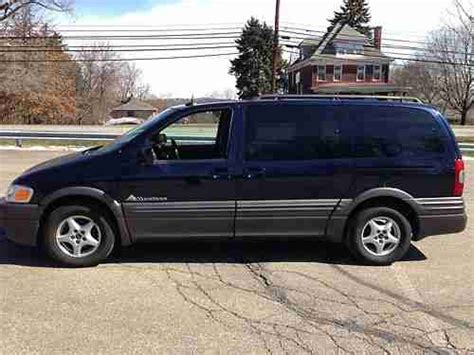 how to sell used cars 2003 pontiac montana user handbook purchase used 2003 pontiac montana blue metalic 3 4 l extended minivan 4d in allison park