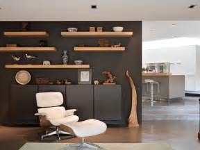 Modern Living Room Wall Storage