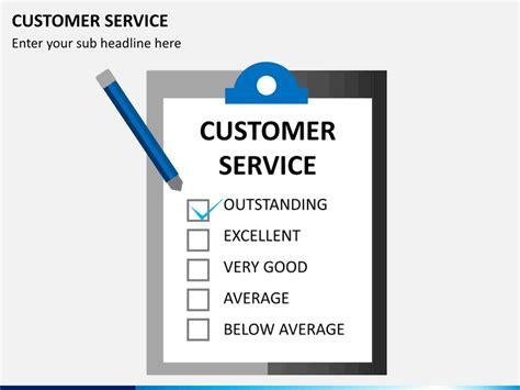 customer service powerpoint templates customer service powerpoint template sketchbubble