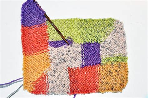 10 maschen decke stricken stricken 10 stitch blanket nach frankie brown stricken