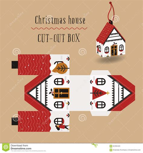 new year gipft paceje rs 99 imege house box stock illustration image of advertising 62455422