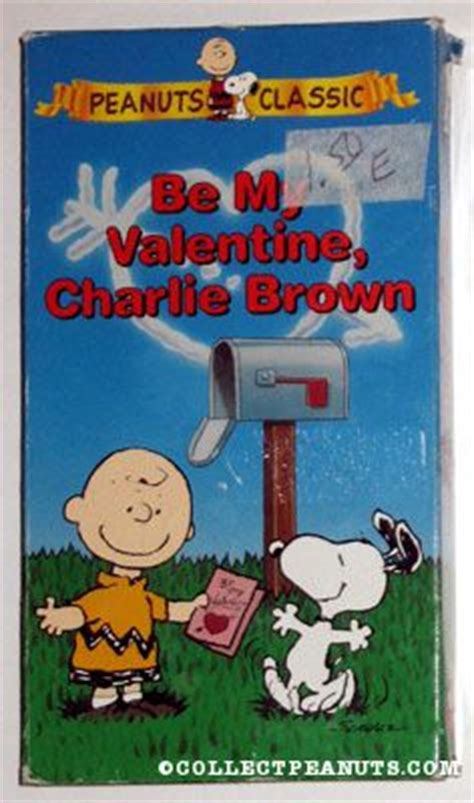 be my brown vhs peanuts paramount collectpeanuts