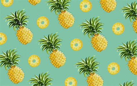 pineapple pattern hd pineapple wallpapers wallpaper cave