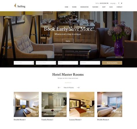 16 best hotel booking wordpress themes with reservation 10 best hotel reservation wordpress themes