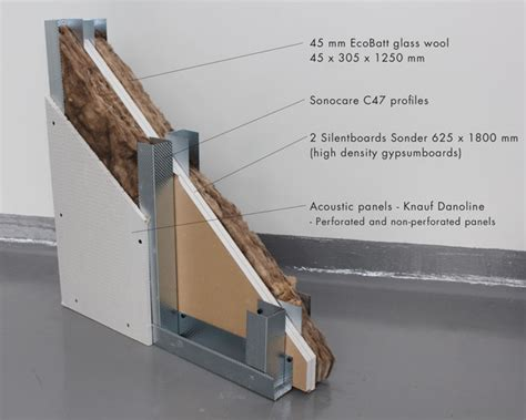 Wooden Partition Wall sonocare wall system knauf danoline a s