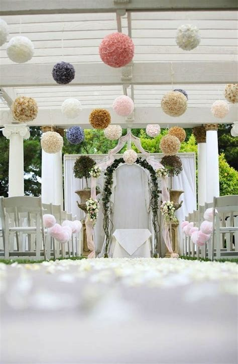 Outdoor Wedding Ceremony Decorations   Romantic Decoration