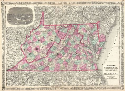 map maryland and west virginia 1864 in west virginia