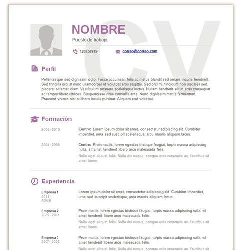 Modelo Curriculum Europass Español 25 Melhores Ideias Sobre Modelos De Curriculum Vitae No Modelos De Cv Modelos De