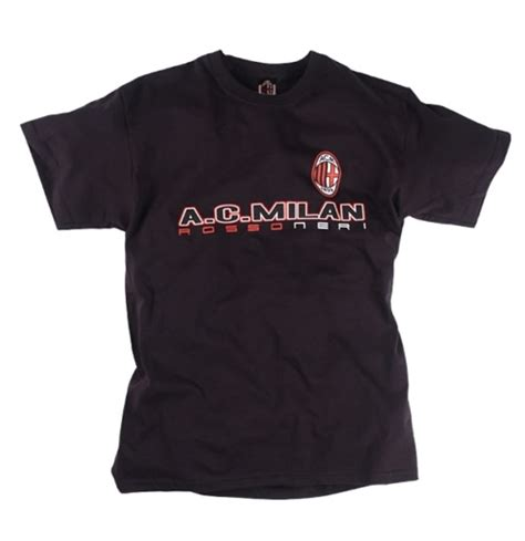Ac Milan T Shirt ac milan t shirt for only 163 16 70 at merchandisingplaza uk