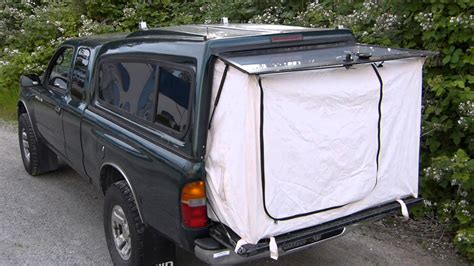 Tonneau Cover Tent For Sale Tent End For A Truck