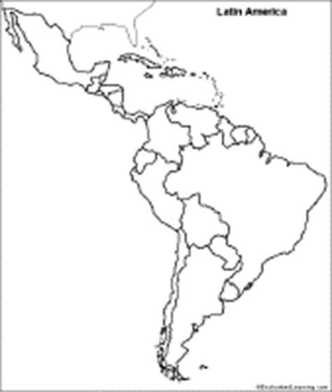 outline map of south america with countries 302 found