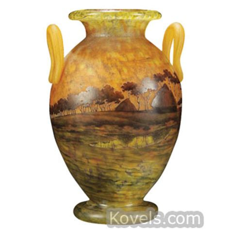 Daum Vases Prices by Antique Daum Glass Price Guide Antiques Collectibles