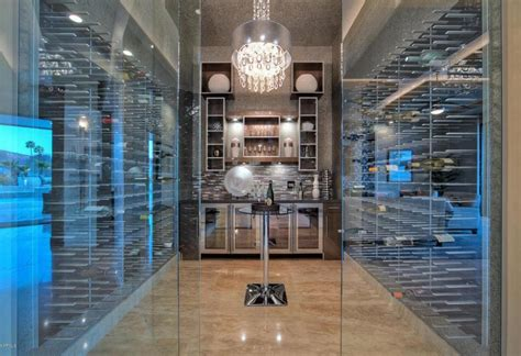 Paramount Home Decor Temperature Controlled Glass Wine Cellars