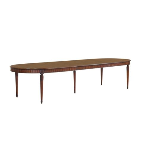 Sofa Oval 379 by Oval Dining Table Toulouse Jansen Furniture